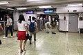 L2-L5 interchange interface of Yonghegong Lama Temple Station (20180821133045).jpg