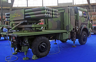 Yugoimport SDPR - LRSVM Morava is a multiple rocket launcher system
