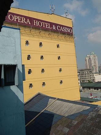 Manila Grand Opera House - MGOH viewed from the LRT-1 station