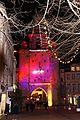 La Tour de la Grosse Horloge illuminée, Noël 2009 (3).JPG