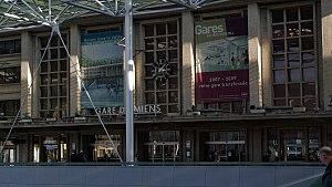 Gare d'Amiens - Image: La gare d'Amiens en travaux