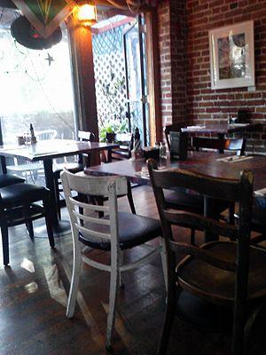 La Peña Cultural Center - Café Valparaíso and its eclectic décor