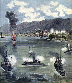 La révolution au Chili L attaque de Valparaiso 1891.jpg