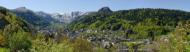 La vallée de Mont-Dore et le Puy de Sancy