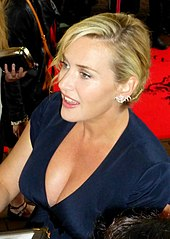 Kate Winslet signs autographs.
