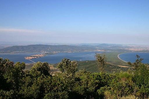 Laguna 0rbetello e Tombolo di Feniglia