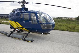 MBB Bo 105 - Offshore-configured Bo 105