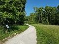 Lainzer Tiergarten, Lehrpfad a. d. Weg v. Tor z. Hermesvilla.jpg