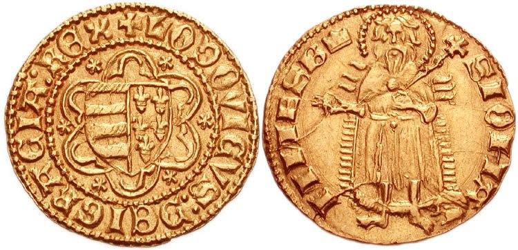 Lajos I florint 768761