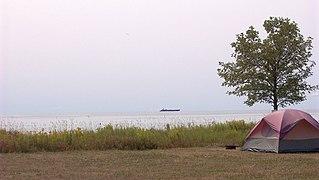 Lake Ontario from Prince Edward County, Ontario