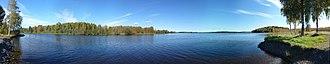 Dalarna - Image: Lake Runnsjön