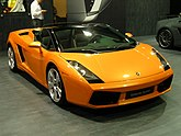 Lamborghini Gallardo Spyder 2007.JPG