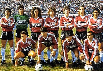 Club Atlético Lanús - The Lanús squad that won the 1991–92 Primera B Nacional championship, returning to Primera División