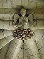 Laon (02) Cathédrale Notre-Dame Intérieur Clef de voûte 03.JPG