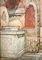 Lararium in the House of L Caecilius Jucundus Pompeii by Luigi Bazzani.jpg