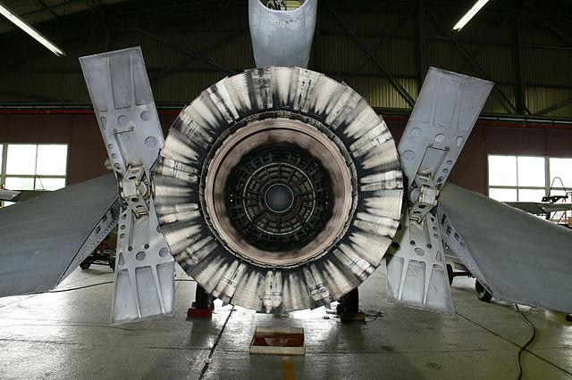 Culo di aereo militare
