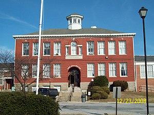 Old Laurel High School - Old Laurel High School, December 2008