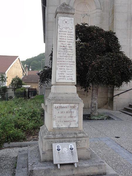 Lay-Saint-Remy (Meurthe-et-M.) monument aux morts
