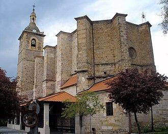 Lazkao - Image: Lazkao Iglesia de San Miguel 24