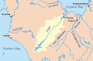 river in Quebec, Canada