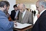 """Leal, Giles y Memolli en la inauguración de """"Argentina en Antártida"""" en el Museo Malvinas (21580735470).jpg"""