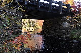 Grist Mill Bridge (Lebanon, Maine) bridge in United States of America