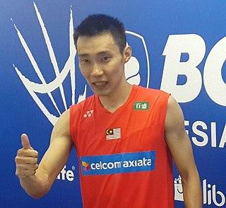 Lee Chong Wei Malaysian badminton player