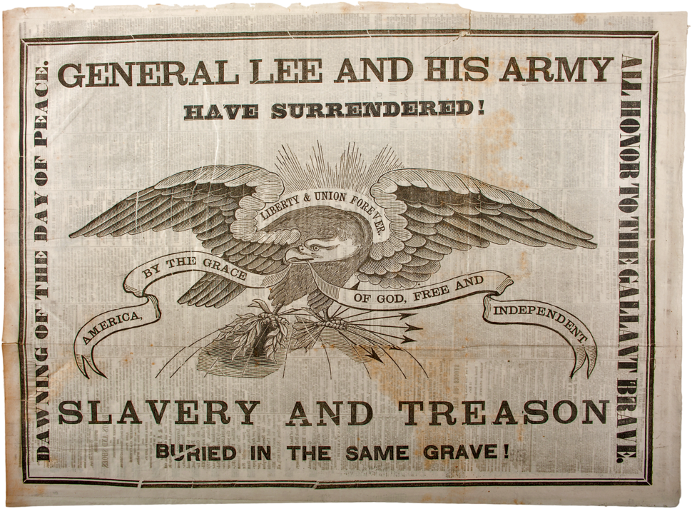 Lee Surrendered, Albany Journal, 10 Apr 1865