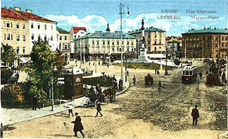 Lviv - Lemberg (Lviv) in 1915