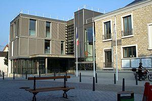 Les Mureaux - The town hall in Les Mureaux