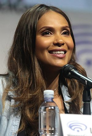 Lesley-Ann Brandt - Brandt at the 2017 WonderCon, to promote Lucifer.