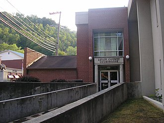Leslie County, Kentucky - Image: Leslie County Kentucky Courthouse