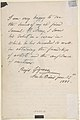 Letter to Samuel P. Avery with a drawing of a military figure MET DP807612.jpg