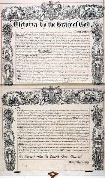 Letters Patent Australia