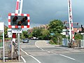 Level crossing at Pinhoe station - geograph.org.uk - 969707.jpg