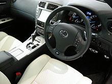 2008 Lexus IS F Interior (USE20; Japan)