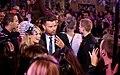 Life Ball 2014 red carpet 090 Ricky Martin Mirjam Weichselbraun.jpg
