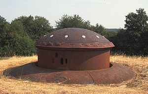 Fortified Sector of Thionville - Machine gun turret, Immerhof