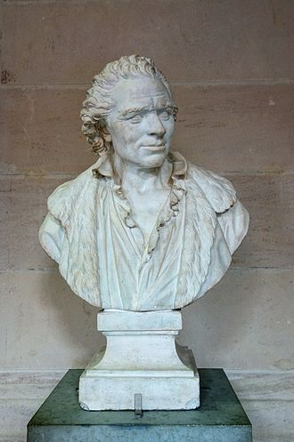Charles de Wailly - Charles de Wailly (1789), bust by Augustin Pajou