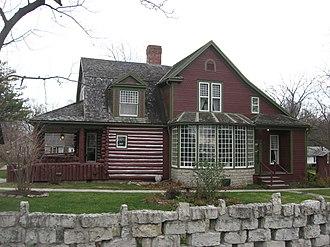Gene Stratton-Porter - Limberlost State Historic Site, western side
