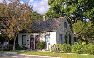 Ferdinand Lindheimer - The Lindheimer House, New Braunfels, Texas