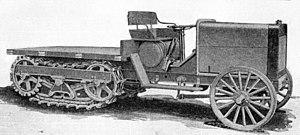 Linn tractor - First Linn tractor, 1916