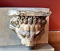 Lion-headed gargoyle from the entablature of the courtyard colonnades at the sanctuary of Jupiter in Baalbek, Lebanon. 2nd century CE. Limestone. Pergamon Museum, Berlin, Germany.jpg
