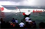 Lion Air Flight 904 wreckage - Bali - 13 April 2013.jpg