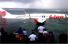 Lion Air Flight 904 wreckage - Bali - 13 April 2013.jpg