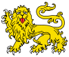 Lion Passant Guardant.svg