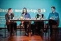 Literatur meets Netzpolitik. Katharina Meyer, Barbara Wimmer, Sina Kaufmann, Bijan Moini.jpg