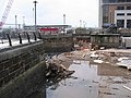 Liverpool Canal Link - constructing the lock - geograph.org.uk - 1700793.jpg