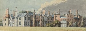 Sir Thomas Salusbury, 2nd Baronet - Lleweni hall, the family seat