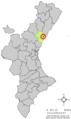 Localització de les Alqueries de la Plana respecte del País Valencià.png